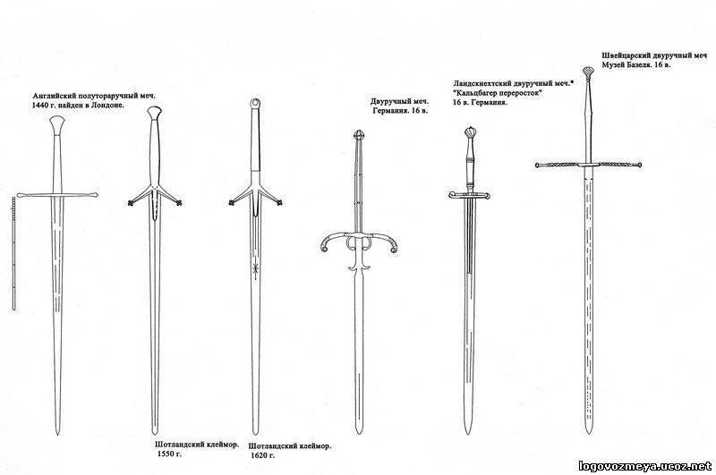 Как сделать меч чертеж 998